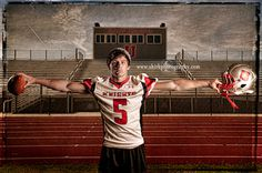 Senior Picture Ideas For Guys Football | Posted by Shirk Photography at 12:34 PM