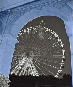 Paris when the wheel was still there...