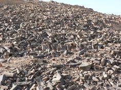 minsara volcanic rock formation in Makhtech Ramon