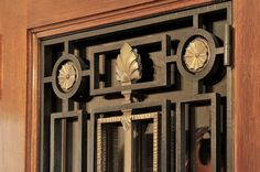 John B. Murray, Architect | grille detail - apartment on central park west.