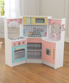 Deluxe Corner Play Kitchen