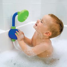 Bath Fun Shower Head Tub Toy...ok this would be a great birthday present, if anyone needs ideas :-)
