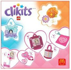 McDonald's Clikits #Happy Meal Toys #2000s