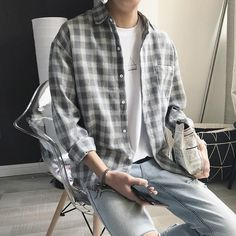 Outfits Casual, Stylish Mens Outfits, Mode Outfits, Men Casual, Casual Styles, Casual Fall, Trendy Outfits For Guys, Man Style Casual, Long Shirt Outfits