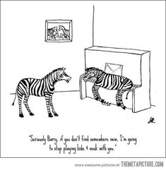 Hide and Seek Level: Zebra