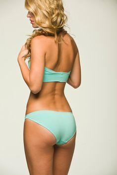 Etsy の Aqua Blue Lingerie Panties Basic Bikini by NaughtyNaughty
