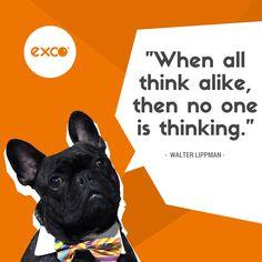 We think. We imagine. We create.