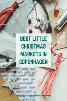 Keep the Christmas season sustainable by supporting local Danish designers and makers selling their goods at these darling Copenhagen Christmas Markets. Copenhagen Christmas Market, Christmas Markets Europe, Little Christmas, Christmas Fun, Capital Of Denmark, Christmas In Germany, Europe Travel Outfits, Denmark Travel, Unique Christmas Gifts