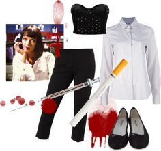 Mrs. Mia Wallace, created by xkatielady on Polyvore