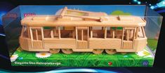 Toys trams streetcars