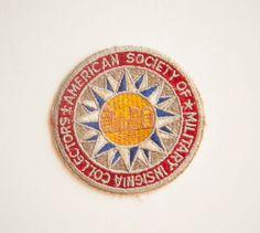 American Society of Military Insignia Collectors, Vintage Patch
