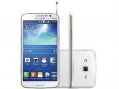 "Smartphone Samsung Galaxy Gran 2 Duos Dual Chip 3G - Android 4.3 Câm. 8MP Tela 5.3"" TV Digital"