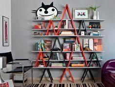 decoração cavaletes de madeira blog da arquitetura 1