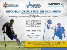 Invita Instituto Municipal del Deporte a Escuela de futbol de inclusión | El Puntero