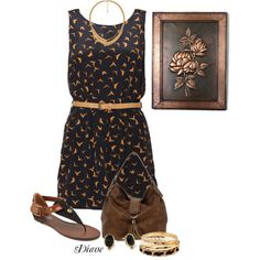 Copper, created by diane-shelton on Polyvore