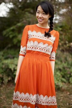 Anthropologie DIY Dress