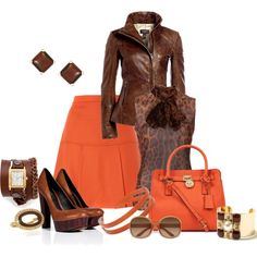 """""""Fall Colors"""" by laaudra-rasco on Polyvore"""