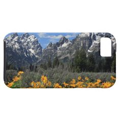 This colorful photo was taken of the Grand Tetons in Wyoming, a part of the great Rocky Mountains. It's a lovely photograph image of the rugged mountain range with snow capped peaks, with a bright blue sky behind, and a field of beautiful yellow daisies in the foreground. Feel free to add your name, vacation date, message, or any other text to any of my products for a completely custom souvenir! #grand #tetons #grand #teton #grand #tetons #national #park #grand #teton #national #park #tetons…
