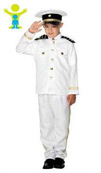 Disfraz de Capitán de Barco infantil