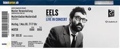 Eels - Die Indie-Alleskönner sind zurück ! 07.07.2014 Zürich, Kongresshaus. http://www.ticketcorner.ch/eels-tickets.html?affiliate=PTT&doc=artistPages/tickets&fun=artist&action=tickets&kuid=427163