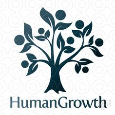 People, Leaves, Growth, Tree Logo