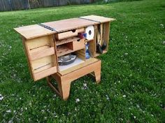 Chuck Box: Ultimate Camping Kitchen Setup in a Box (Video)