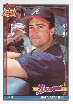 34 Best 1991 Topps Atlanta Braves Images In 2012 Atlanta Braves