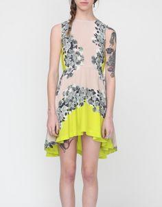 Acid Bloom Kick-out Dress - need supply co $280