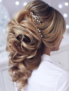awesome Coiffure de mariage 2017 - Tonya Pushkareva Wedding Hairstyle Inspiration...