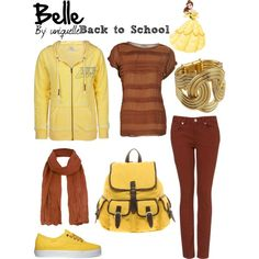 """""""Belle--back to school"""" by uniquelle on Polyvore"""