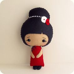 Chinese Girl pdf Pattern by Gingermelon on Etsy, $8.50