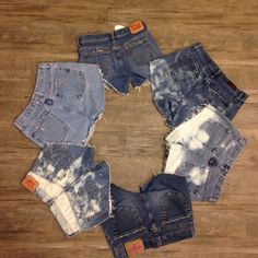 Spring Break is almost here! Get your denim cut offs today! Free shipping code : FREESHIPWEEK
