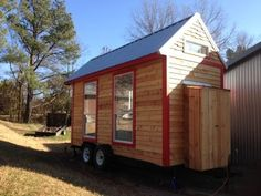 This 128-square-foot teeny in Tennessee. Cute