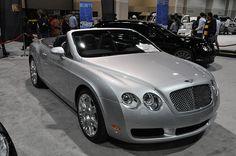 Bently -- SLC International Car Show     I really like these automobiles