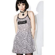 one spo Leopard Bad Girl Dress ($76) ❤ liked on Polyvore featuring dresses, leopard print dresses, leopard cocktail dress, pink leopard dress, mini dress and graphic print dress
