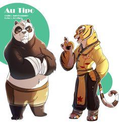 AU Middle-aged Tipo by on DeviantArt Tigress Kung Fu Panda, Po Kung Fu Panda, Po And Tigress, Dreamworks Animation, Disney And Dreamworks, Animation Film, Dreamworks Skg, Couple Cartoon, Cartoon Shows