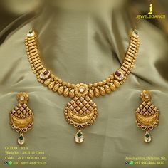 Gold 916 Premium Design Get in touch with us on Mens Gold Jewelry, Gold Jewelry Simple, Gold Jewellery Design, Bridal Jewelry, Jewellery Sketches, Gold Set, Indian Jewelry, Fashion Jewelry, Gold Necklace