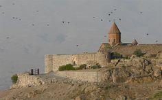 Khor Virap - Armenia by Rita Willaert, via Flickr