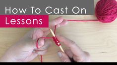 How To Cast On Knitting Stitches For Dummies : Knitting Stitches on Pinterest How To Knit, Stitches and Knits