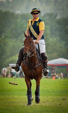 Okanagan Polo Club and horses  Marty Wales