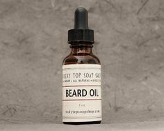 Beard Oil - Unscented, Beard Conditioner, Beard Softener, Beard Care, Beard Hair Treatment, Beard Care Products