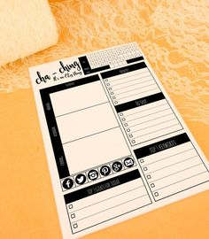 Etsy planner day planner A5 printed desk pad etsy by craftschmooze