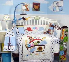 Noah's Ark Baby Bedding