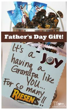 Simple & Sweet Father's Day Gift!