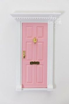Attach your special Fairy Door low on a wall, high on a shelf or in another secret place inside your home. Once your Fairy Door is attached, the fairies will kn