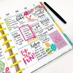 Easter is one of my favorite holidays! Spring weather, lots of family time, new dresses, and most importantly happy planner
