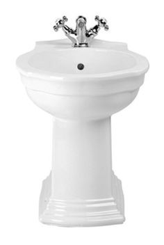 Westminster Bidet - With its confident angular form, our pure white Westminster ceramic ware provides the strong styling heart of this collection. Imperial Bathrooms, Pure White, Westminster, Bauhaus, Confident, Sink, Strong, Ceramics, Pure Products