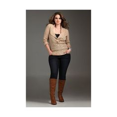 Torrid Plus Size Outfits 5 best ❤ liked on Polyvore featuring tops, womens plus tops, women plus size tops and plus size tops