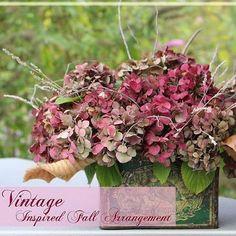 DIY Fall Floral Arrangements