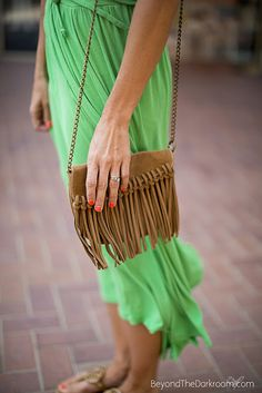 SALT: Fringed accessories